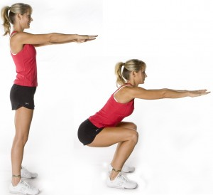 Air Squat : L'un des meilleurs exercices de gainage abdos