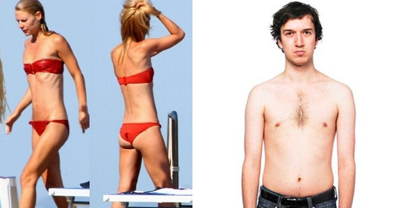avis de femme homme maigre