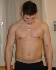 Une de mes premières tentative de perte de poids malgré le sport