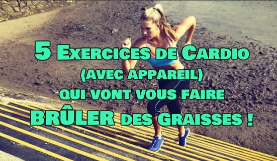 5 Exercices Cardio pour maigrir - ExerciceAbdo.Fr