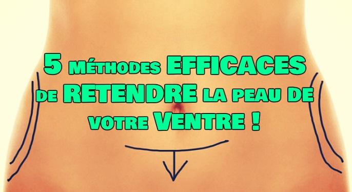 5 Manières de Retendre la peau du Ventre - ExerciceAbdo.Fr