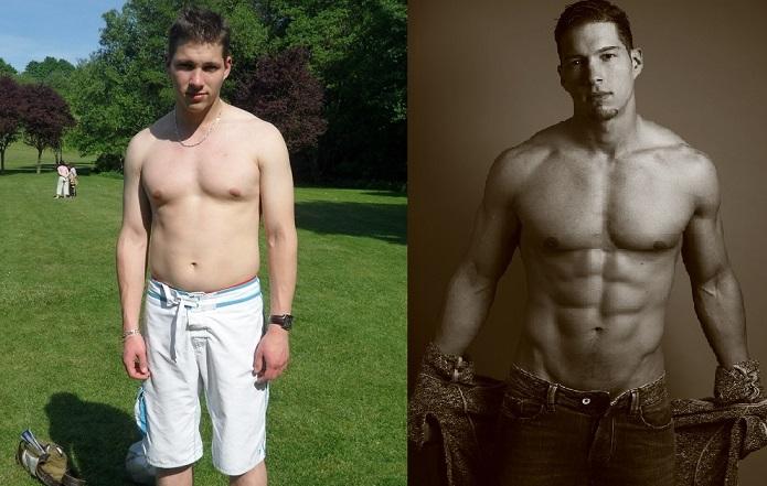 Transformation physique en 2 mois