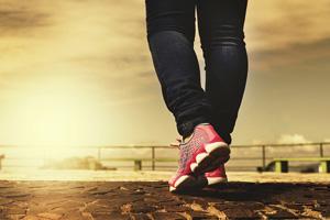 Marche pour stimuler l'adiponectine