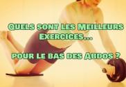exercices pour perdre du ventre a la maison